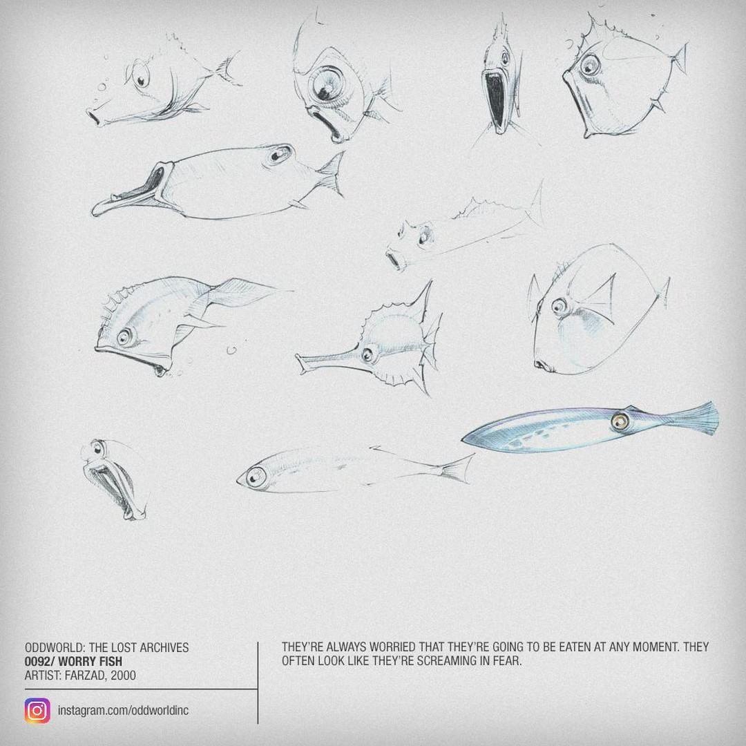0092 worry fish