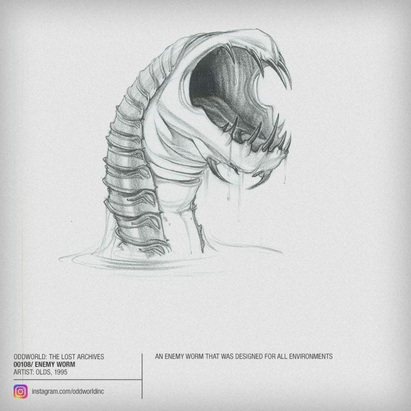 00108 enemy worm