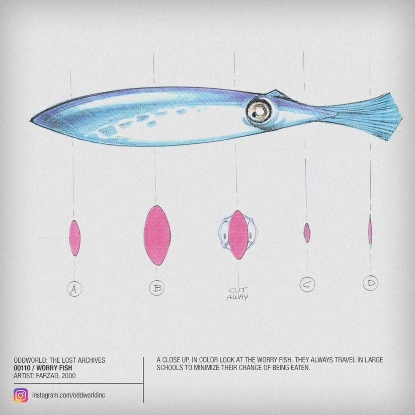 00110 worry fish