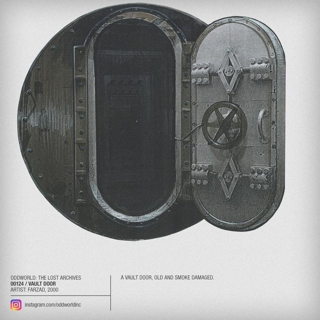 00124 Vault Door