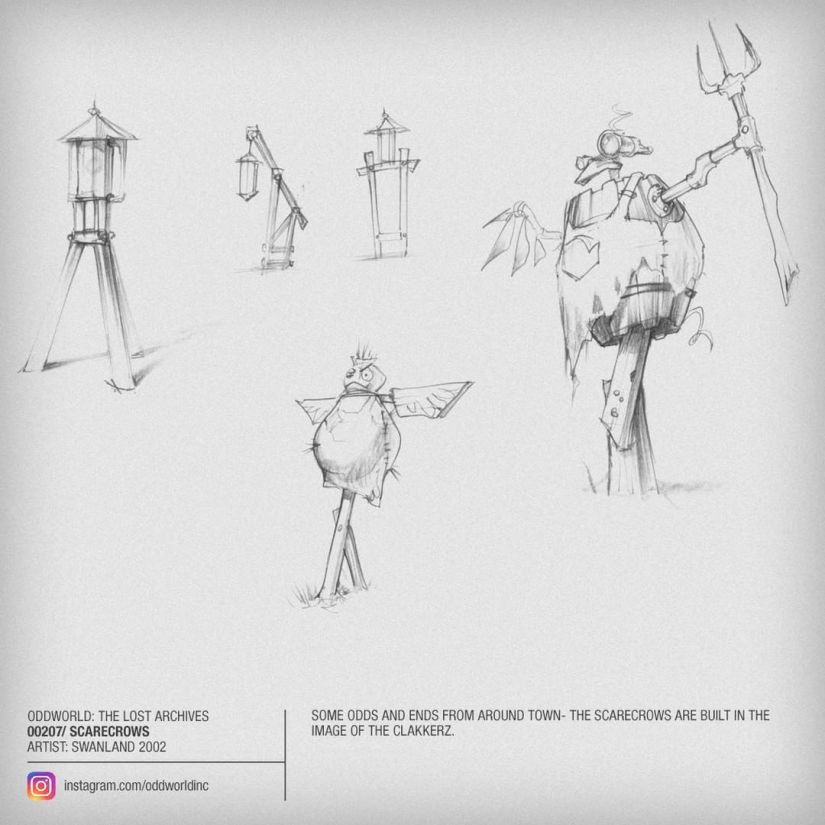 00207 Scarecrows