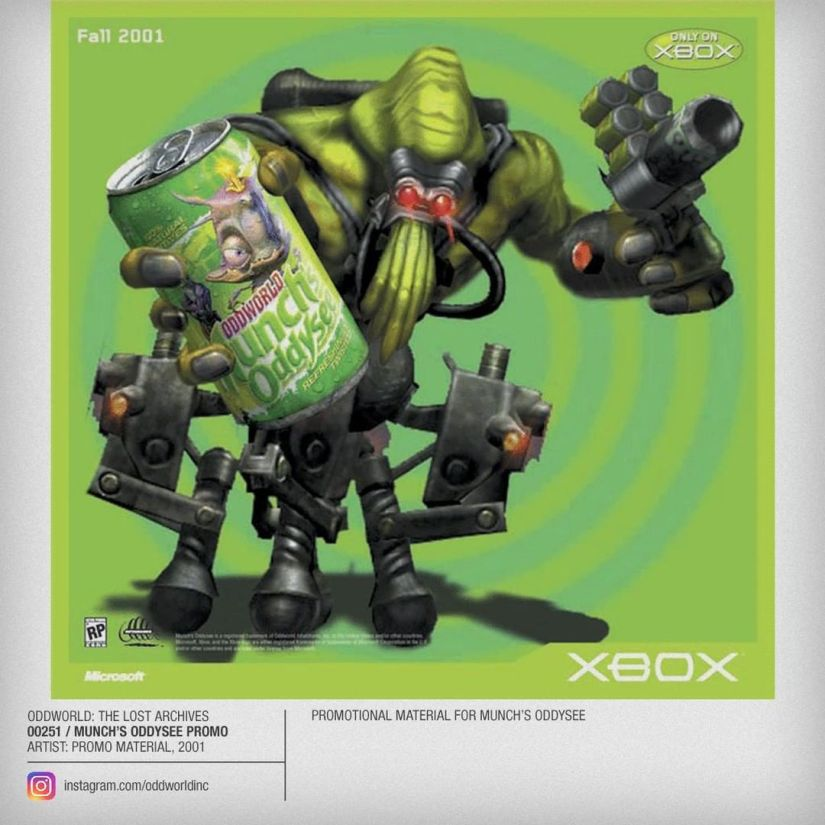 00251 Munch's Oddysee Promo