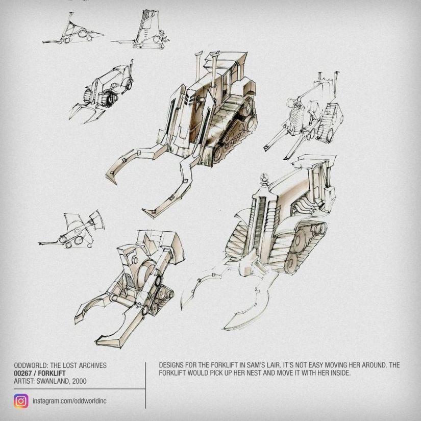 00267 Forklift