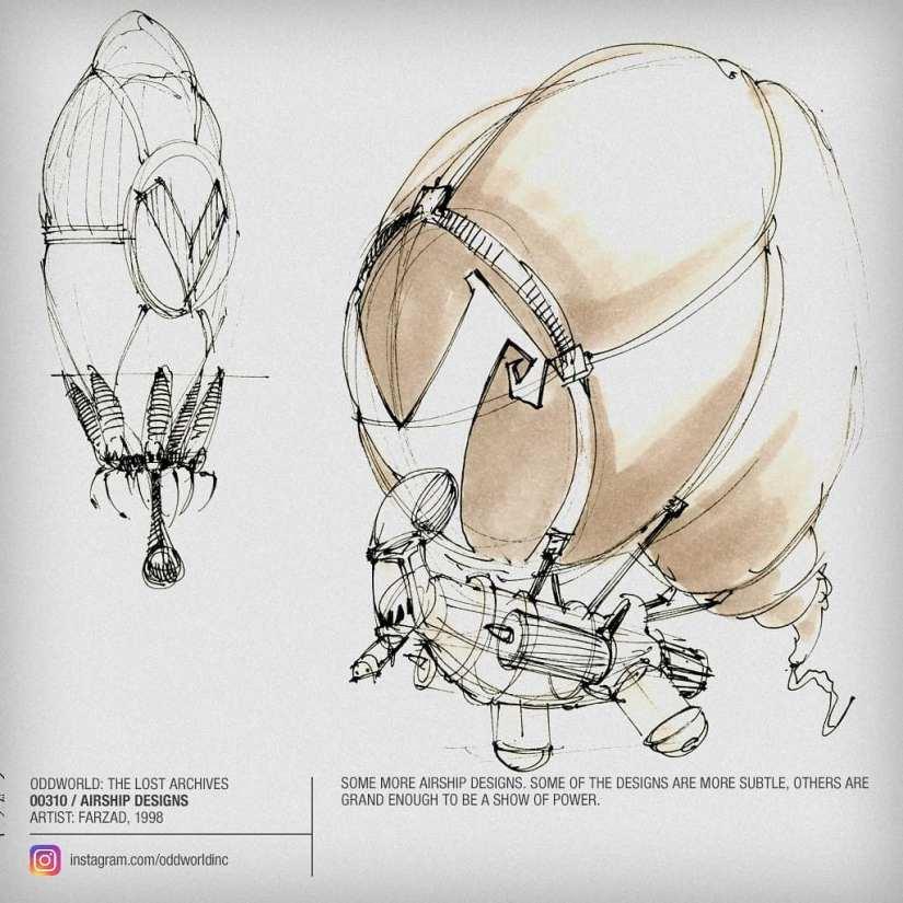 00310 Airship Designs