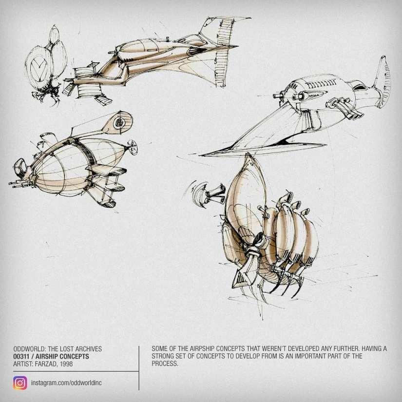 00311 Airship Concepts