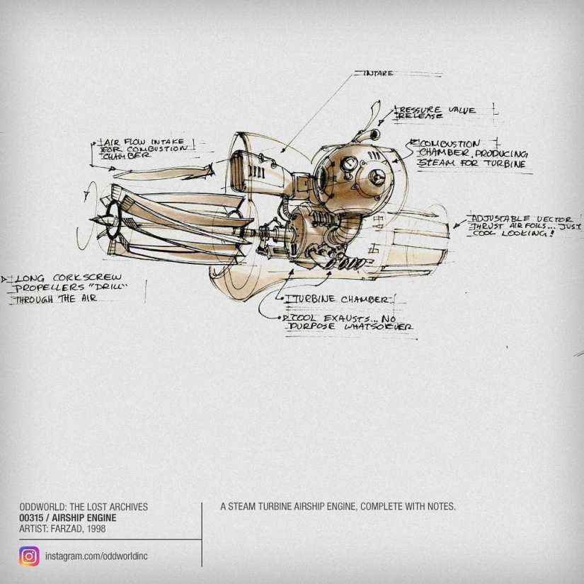 00315 Airship Engine